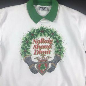 Vintage Irish Christmas Sweatshirt